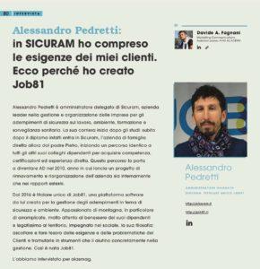 Intervista sul Aiasmag ad Alessandro Pedretti